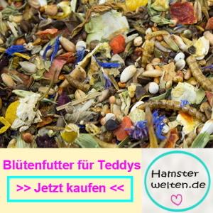 Hamsterfutter mit Blüten